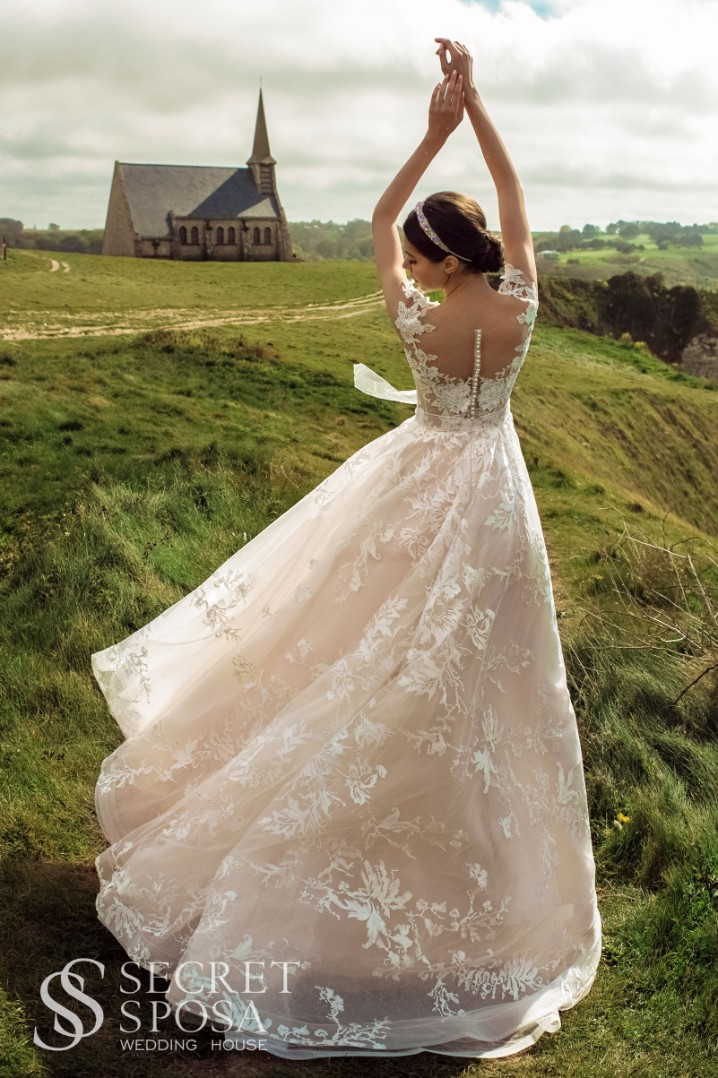 Wedding dress Obis