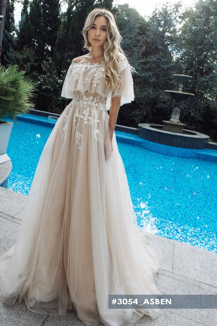 Wedding dress Asben